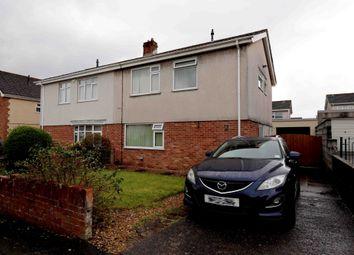 Thumbnail Semi-detached house for sale in Penrhos, Swansea