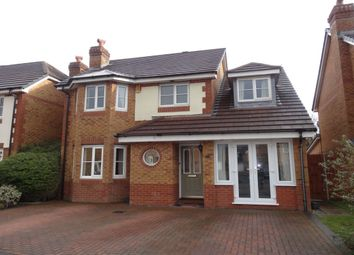 Thumbnail 4 bed detached house for sale in Worcester Gardens, Cottam, Preston