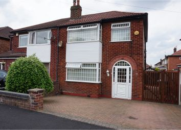 Thumbnail 3 bed semi-detached house for sale in Bollington Road, Heaton Chapel