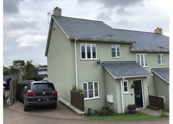Thumbnail 3 bed end terrace house for sale in Caversham Close, Exeter