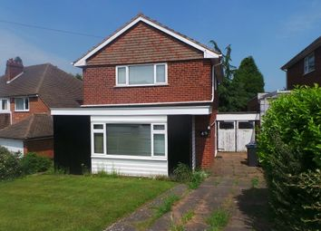 Thumbnail 3 bed detached house for sale in The Greenway, Sutton Coldfield