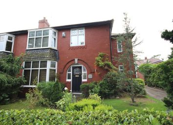 Thumbnail 3 bed semi-detached house for sale in Moorgate Avenue, Bamford, Rochdale