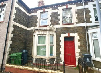 Thumbnail 3 bed terraced house for sale in Wells Street, Cardiff