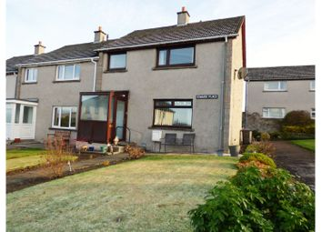 Thumbnail 3 bedroom end terrace house for sale in Edward Place, Muirhead