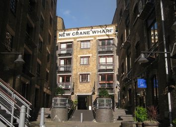 Thumbnail 1 bed flat to rent in New Crane Wharf, New Crane Place, Wapping, London