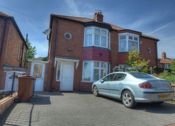 Thumbnail 2 bed semi-detached house for sale in Eastgate Gardens, Grainger Park, Newcastle Upon Tyne