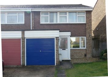 Thumbnail 3 bed property to rent in Milton Close, Royston, Herts
