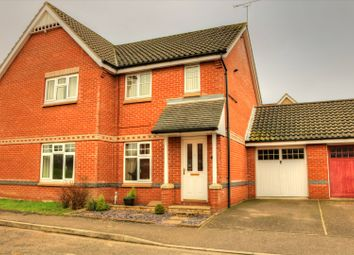 Thumbnail 2 bed semi-detached house for sale in Lodge Farm Drive, Norwich