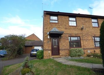 Thumbnail 3 bed semi-detached house for sale in Downsway, East Hunsbury, Northampton, Northamptonshire