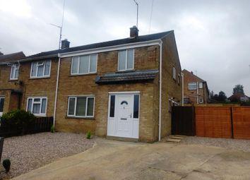 Thumbnail 3 bed semi-detached house for sale in Broadlands, Desborough, Kettering
