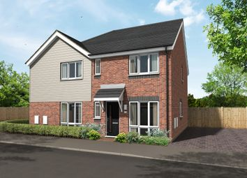 Thumbnail 3 bed semi-detached house for sale in Hawkins Lane, Burton-On-Trent