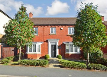 Thumbnail 4 bed detached house for sale in Lancut Hill, Coton Park, Rugby