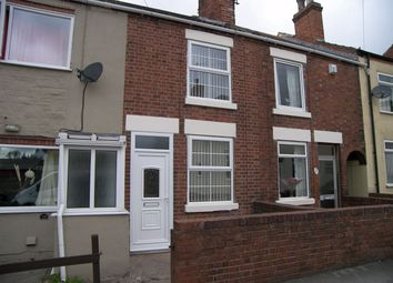 Thumbnail 2 bed terraced house to rent in Chapel Street, Leabrooks, Alfreton, Derbyshire