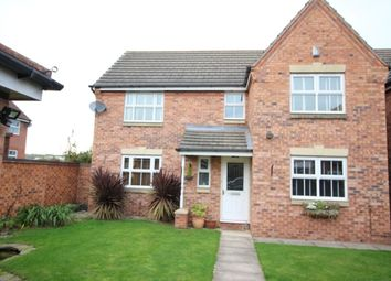 Thumbnail 4 bed detached house for sale in Cotterhill Close, Worksop