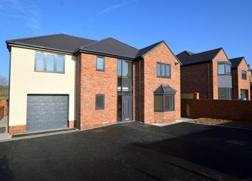 Thumbnail 4 bedroom detached house for sale in Plot 1 - Station Road, Pilsley, Chesterfield