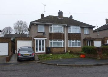 Thumbnail 3 bed semi-detached house to rent in Amberley Close, Swindon
