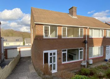 Thumbnail 3 bed semi-detached house to rent in Cwmgelli Close, Treboeth, Swansea