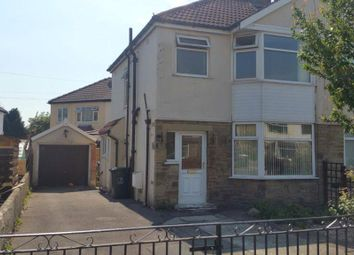 Thumbnail 3 bed semi-detached house to rent in Hallows Road, Keighley, West Yorkshire