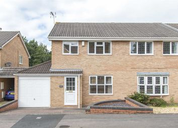 Thumbnail 3 bed semi-detached house for sale in Makin Close, North Common, Bristol