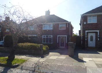 Thumbnail 3 bed semi-detached house for sale in Carey Avenue, Bebington, Wirral