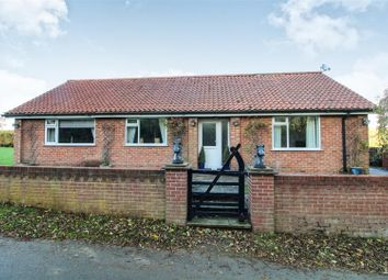 Thumbnail 4 bed detached bungalow for sale in Cottam Lane, Langtoft, Driffield