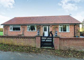 Thumbnail 4 bed detached bungalow for sale in Cottam Lane, Langtoft, Driffield