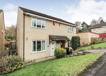 Thumbnail 2 bed semi-detached house for sale in The Brow, Bath