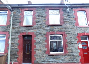 Thumbnail 3 bed terraced house for sale in Coronation Street, Trethomas, Caerphilly