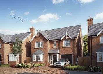 Thumbnail 4 bed detached house for sale in The Rippon, Chetwynd Mere, Off Chetwynd Road, Newport