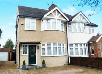Thumbnail 3 bed semi-detached house for sale in Sussex Avenue, Isleworth