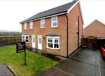 Thumbnail 3 bed semi-detached house for sale in Southwood Park, Driffield