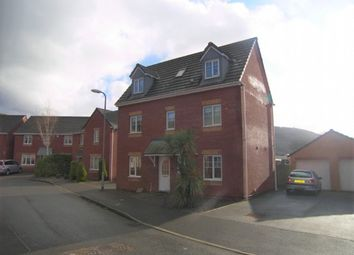 Thumbnail 4 bed detached house to rent in Harvard Jones Close, Neath