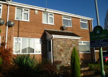Thumbnail 2 bed property to rent in Meadow Lane, Markfield