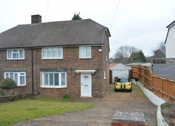 Thumbnail 3 bed semi-detached house to rent in Shawley Way, Epsom