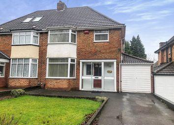 3 bed semi-detached house for sale in Chestnut Drive, Castle Bromwich, Birmingham B36