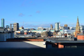 Thumbnail 2 bed flat for sale in Kinvara Heights, 158 Cheapside, Birmingham
