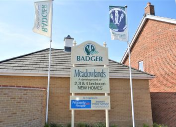 Thumbnail 2 bed terraced house for sale in Plot 3, Meadowlands, Wrentham, Beccles