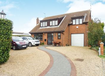 Thumbnail 4 bedroom detached house for sale in Mill Road, Stokesby, Great Yarmouth