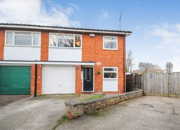 Thumbnail 3 bed semi-detached house for sale in Sappers Close, Sawbridgeworth