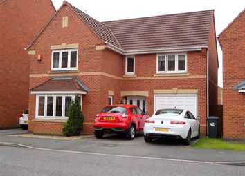 Thumbnail 4 bed detached house for sale in Arizona Crescent, Great Sankey, Warrington