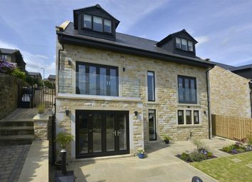 Thumbnail 5 bed detached house for sale in School Lane, Southowram, Halifax, West Yorkshire