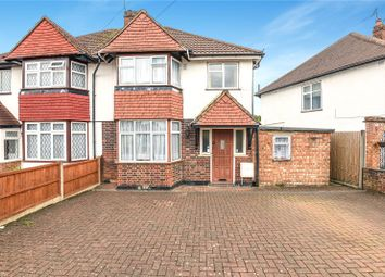 Thumbnail 3 bed semi-detached house for sale in Roundways, Ruislip, Middlesex