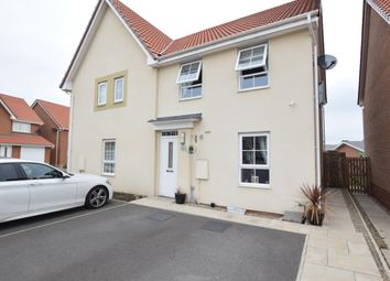 Thumbnail 3 bed semi-detached house for sale in Harrier Close, Scunthorpe