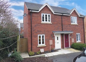 Thumbnail 2 bed semi-detached house for sale in Brindley Close, Chellaston, Derby