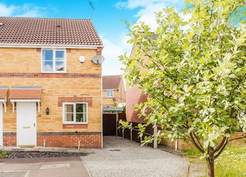Thumbnail 2 bed semi-detached house for sale in Lathkill Court, North Wingfield, Chesterfield
