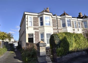 Thumbnail 4 bed end terrace house for sale in Nevil Road, Bishopston, Bristol