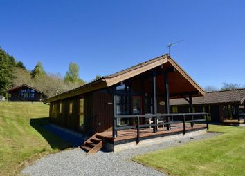 Thumbnail 3 bed lodge for sale in The Glebe, Killin