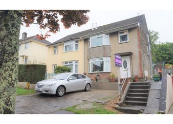 Thumbnail 4 bed semi-detached house for sale in Uxbridge Drive, Plymouth
