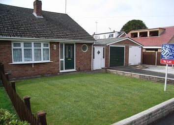 Thumbnail 2 bed semi-detached bungalow to rent in Yew Tree Road, Wistaston, Crewe, Cheshire