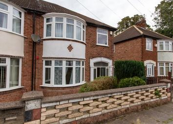 Thumbnail 3 bed semi-detached house to rent in Nevanthon Road, Western Park, Leicester